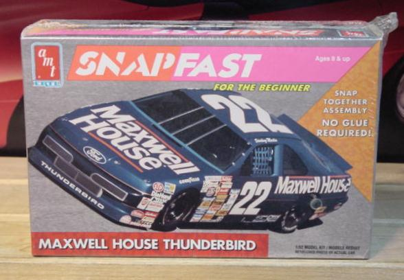 AMT #22 Maxwell House Sterling Marlin 1992 1/32 Scale Kit Sealed
