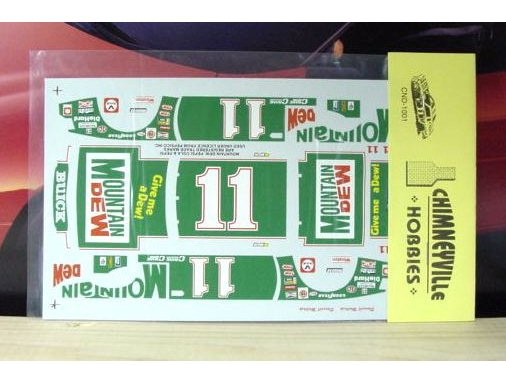 #11 Mountain Dew Darrell Waltrip 1981 Chimneyville