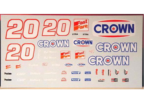 #20 Crown Rob Moroso 1990