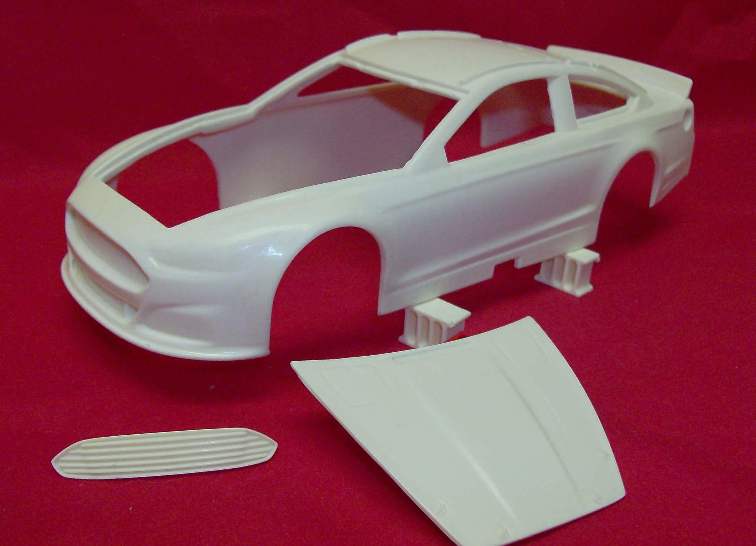 2013 Ford Fusion For Sale >> Resin Body 2013/15 Ford Fusion Powerslide nascar model car kit - Powerslide Resin - Resin Bodies ...