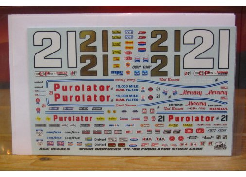 #21 Purolator Wood Brothers 1974-80 ACE