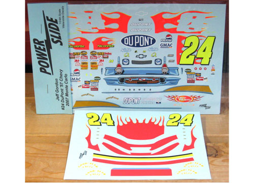 #24 DuPont '57 Chevy Scheme 2007 Powerslide