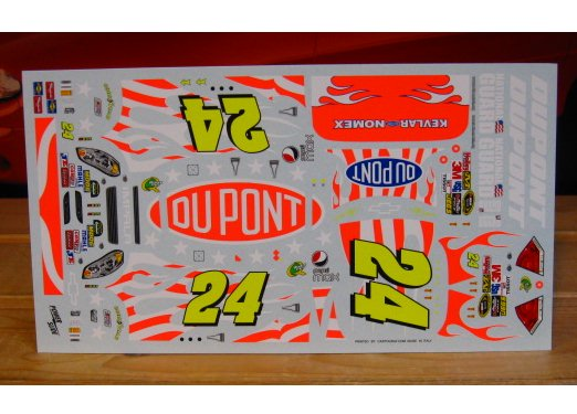 #24 DuPont Patriotic Jeff Gordon 2010 Coca Cola 600 Powerslide