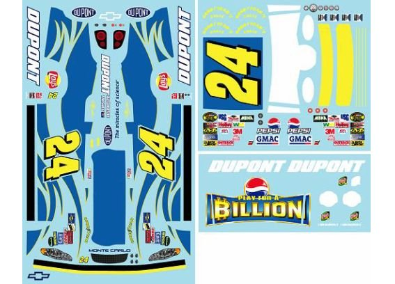 #24 Pepsi Billion Jeff Gordon 2004 JWTBM
