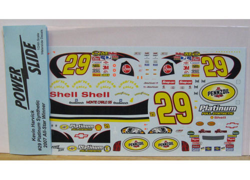 #29 Pennzoil Synthetic Kevin Harvick 2007 All Star Powerslide