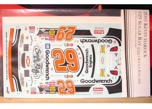 #29 Sugar Ray Kevin Harvick 2003 JWTBM