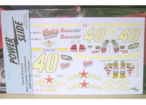 #40 Lone Star David Stremme 2006 Powerslide
