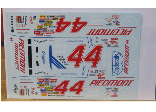 #44 Piedmont Sterling Marlin 1988 Oldsmobile Powerslide
