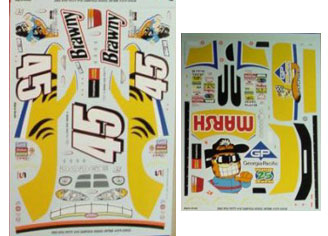 #45 Garfield Kyle Petty 2003 JWTBM