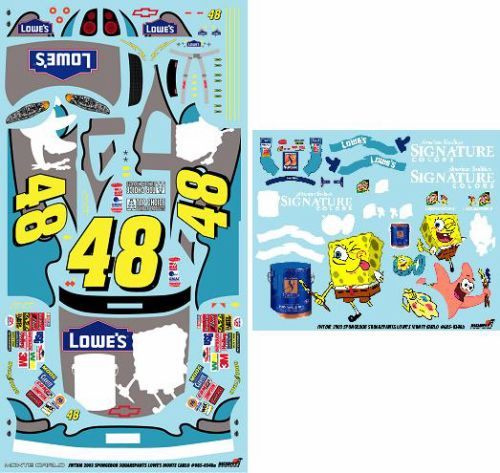 #48 Spongebob Jimmy Johnson 2003 JWTBM