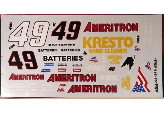 #49 Ameritron Stanley Smith 1993 JNJ