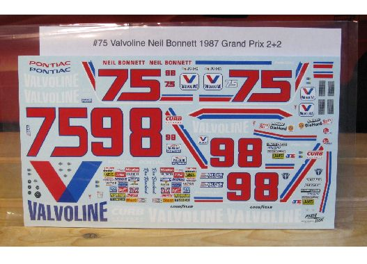 #75/98 Valvoline 1986/87 Grand Prix 2+2  Powerslide