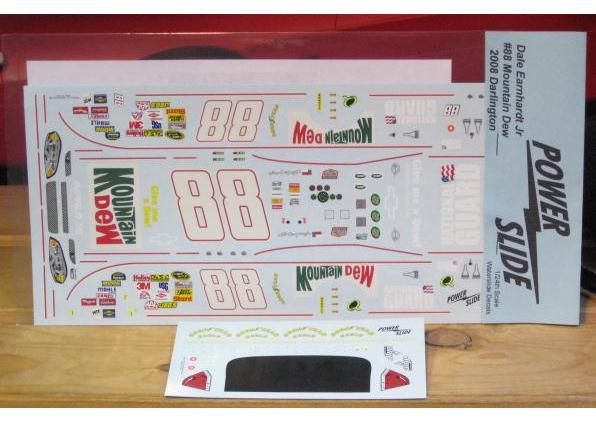 #88 Mountain Dew Dale Earnhardt Jr 2008 Powerslide