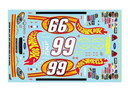 #99 Hot Wheels Jeff Burton 2004 JWTBM