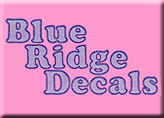 Blue Ridge Decals