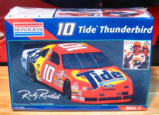 #10 Tide Ricky Rudd 1995 Thunderbird Kit Sealed