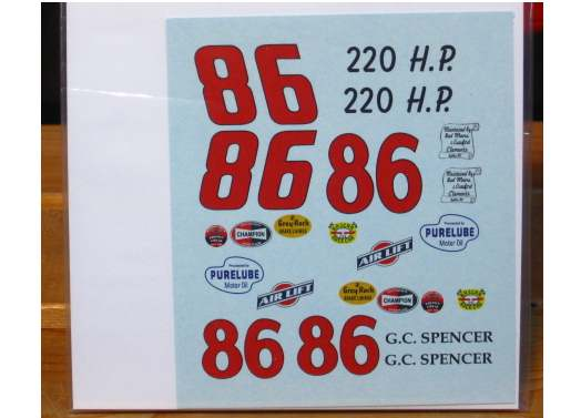 #86 GC Spencer '57 Chevy PPP