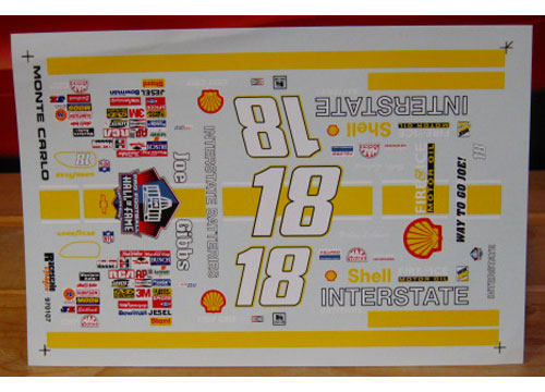 #18 Interstate Joe Gibbs Hall of Fame Redskins Colors