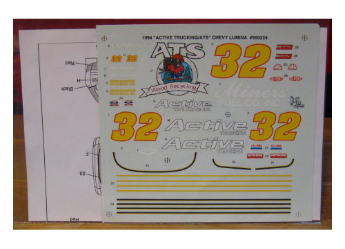 #32 Active Trucking Dick Trickle 1994