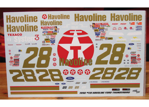 #28 Havoline Davey Allison 1990 Powerslide