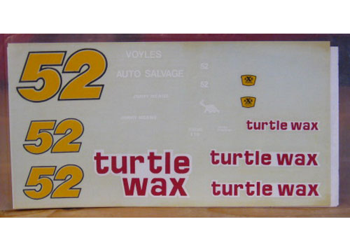 #52 Turtle Wax Jimmy Means 1987 JNJ