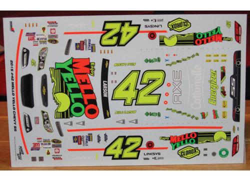 #42 Mello Yello Retro Kyle Larson 2015 Darlington Powerslide