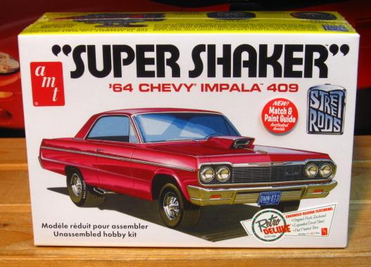 AMT 1964 Chevy Impala 409 Super Shaker New 2015 Issue Sealed