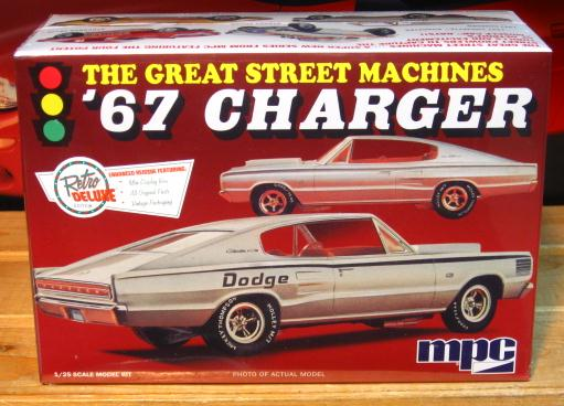 MPC 1967 Charger Street Machine 2015 Issue Kit Sealed