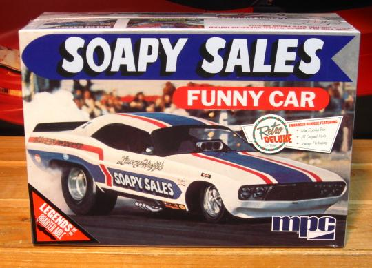 MPC Soapy Sales Dodge Challenger Funny Car New 2015 Issue
