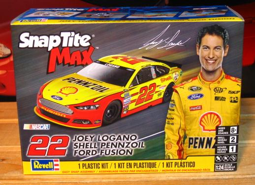 #22 Joey Logano 2015 Ford Fusion Revell Kit Sealed