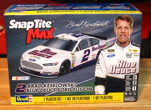 # 2 Brad Keselowski 2015 Fusion Revell Kit Sealed