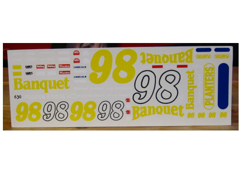 #98 Banquet Jimmy Spencer 1991 Lumina Fred Cady