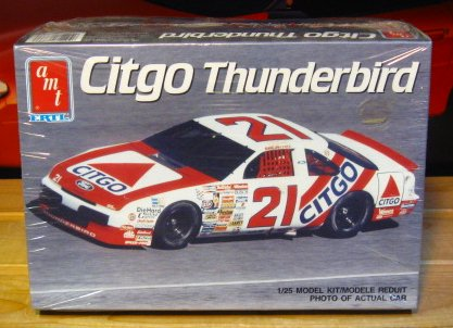 #21 Citgo Dale Jarrett 1990 Thunderbird AMT Kit Sealed