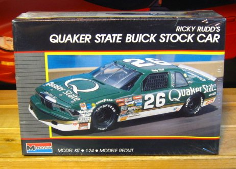#26 Quaker State Ricky Rudd 1989 Monogram Kit Sealed