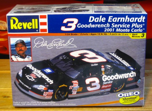 # 3 Goodwrench/Oreo Dale Earnhardt 2001 Monte Carlo Kit Sealed