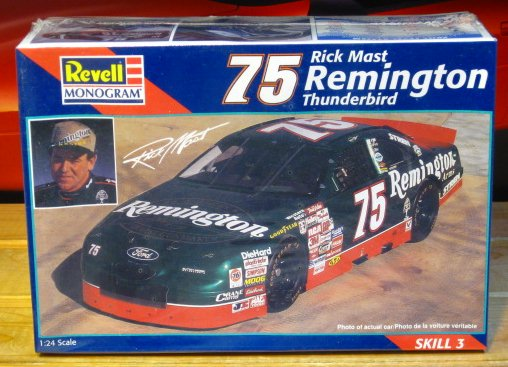 #75 Remington Rick Mast 1997 Kit Sealed