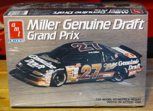 #27 Miller Genuine Draft Rusty Wallace 1990 Grand Prix Kit Sealed
