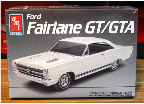 AMT 1966 Ford Fairlane GT/GTA Kit Sealed