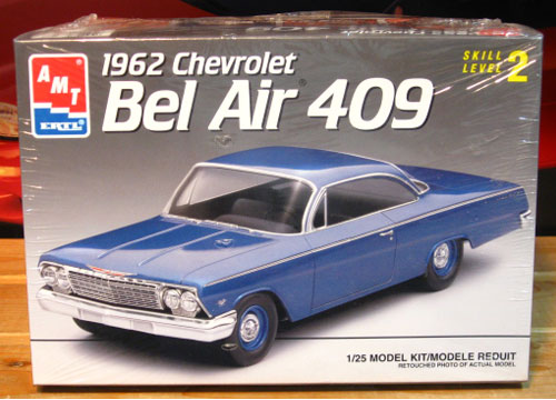 AMT 1962 Chevy Bel Air 409 Hardtop Kit Sealed