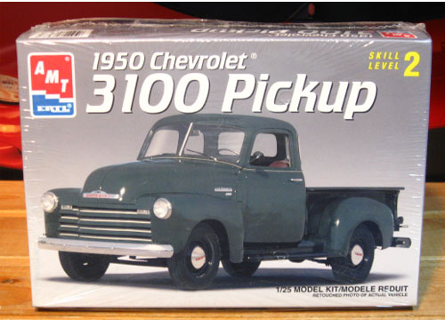 AMT 1950 Chevy 3100 Pickup Kit 1994 Issue Sealed