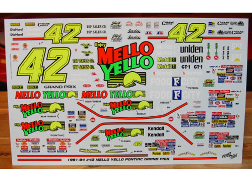 #42 Mello Yello Kyle Petty 1991-94 Powerslide