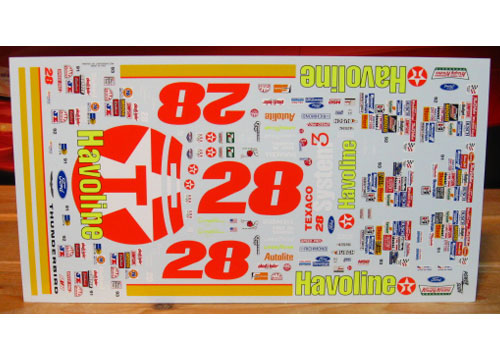 #28 Havoline Davey Allison 1991-93 Powerslide