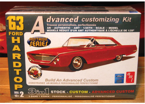 AMT 1963 Ford Galaxie Kit 2007 Issue Sealed