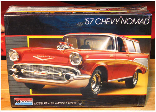 Monogram 1957 Chevy Nomad Kit 1995 Issue  Sealed