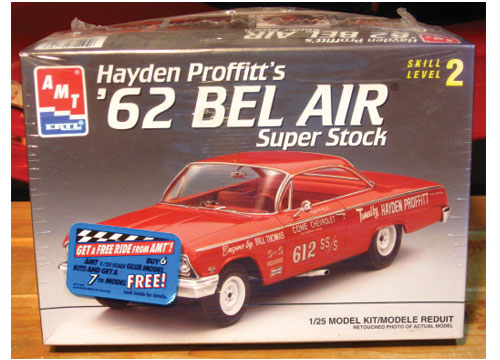 AMT Hayden Proffitt '62 Bel Air Super Stock Kit Complete