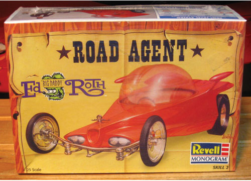 Revell Road Agent Ed Roth 1997 Issue Sealed