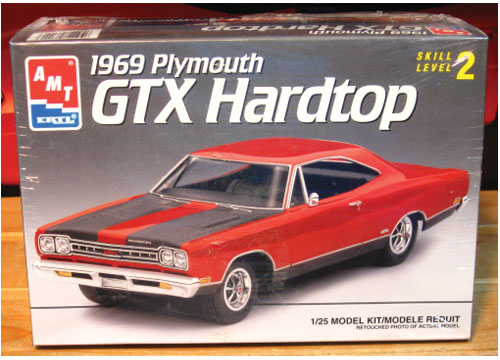 AMT 1969 Plymouth GTX Hardtop 1993 Issue Sealed