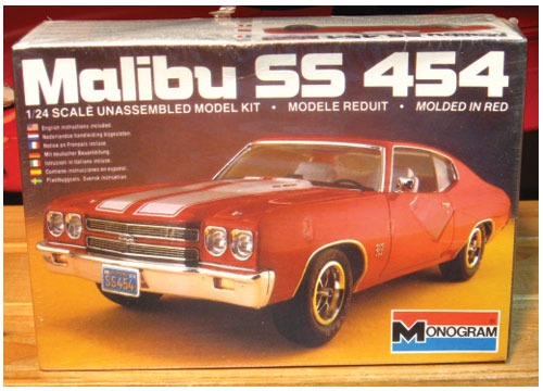 Monogram 1970 Malibu SS 454 1983 Issue Sealed