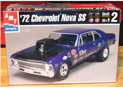 AMT 1972 Chevy Nova SS The Old Pro 2001 Issue Sealed
