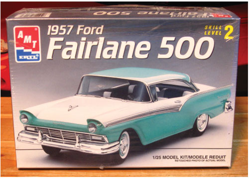 AMT 1957 Ford Fairlane 500 Kit 1993 Issue Sealed